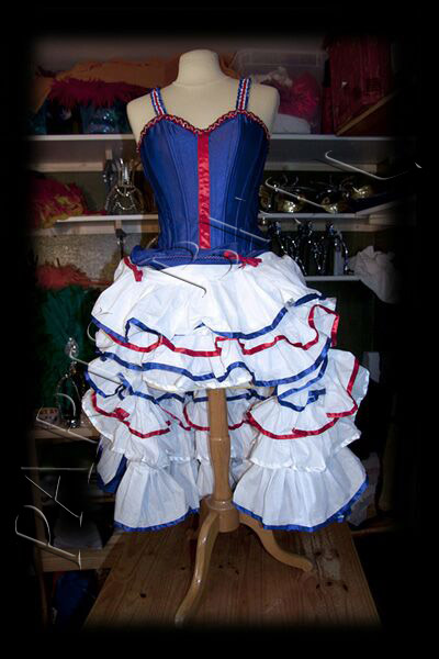 Robe De French Cancan Cabaret Jupe De Cancan Jupon French Cancan
